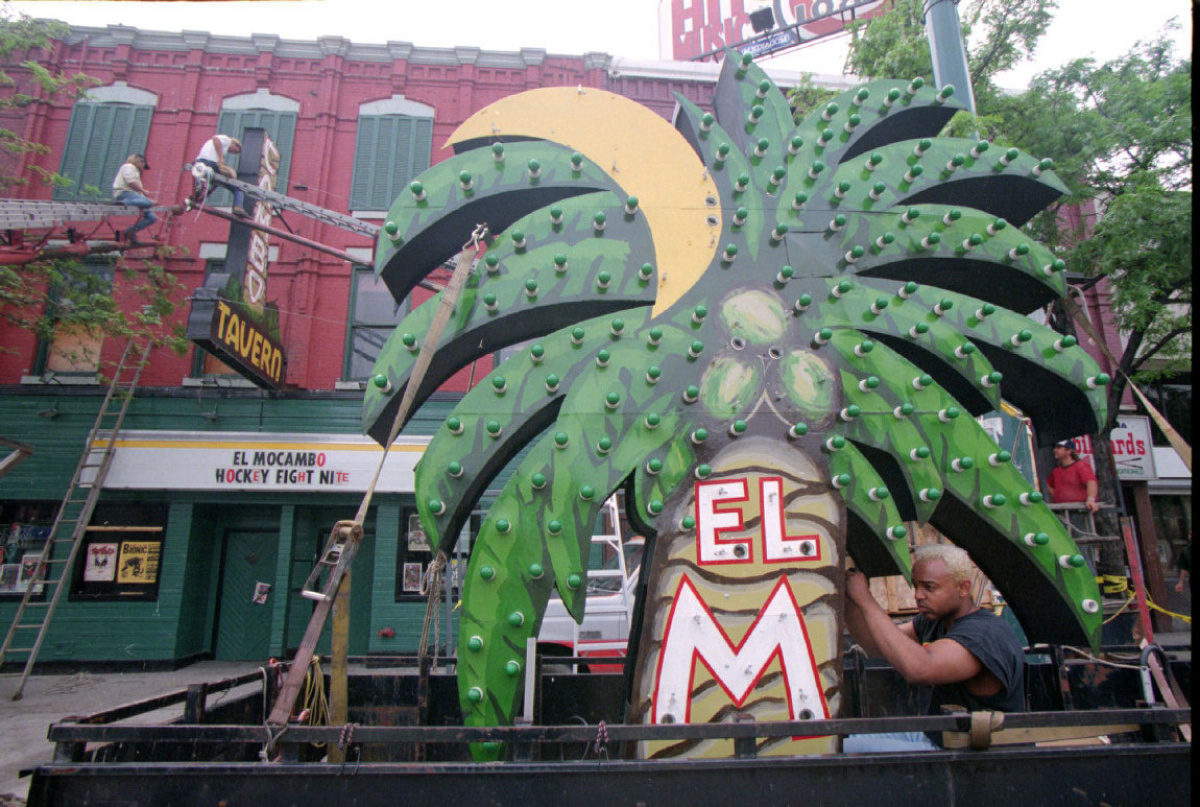 Toronto's iconic El Mocambo sign is getting a 'makeover'