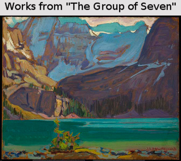 J.E.H. MacDonald. Lake O'Hara, Rockies