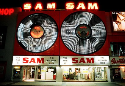 Sam the Record Man Sign to Light Up Toronto Once Again