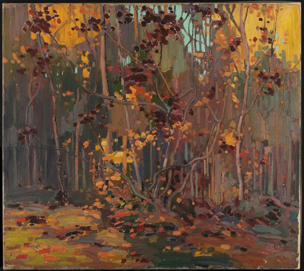 Tom Thomson, Maple Saplings, October